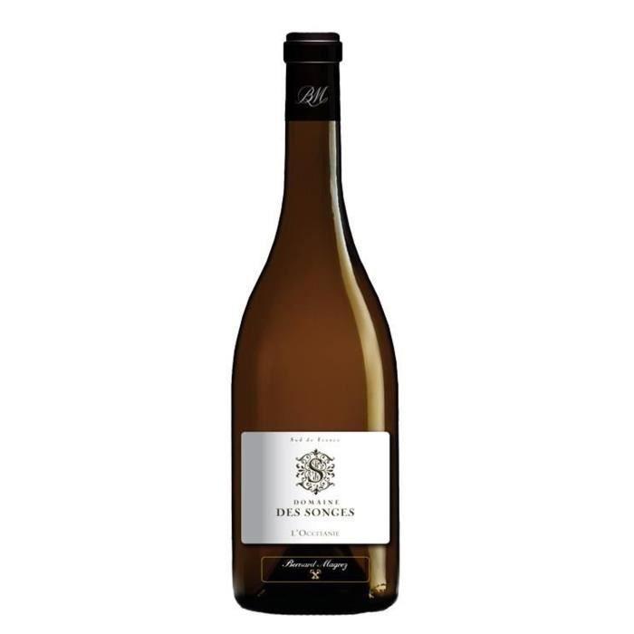 Bernard Magrez Domaine des Songes 2016 Languedoc-Roussillon - Vin blanc du Languedoc-Roussillon