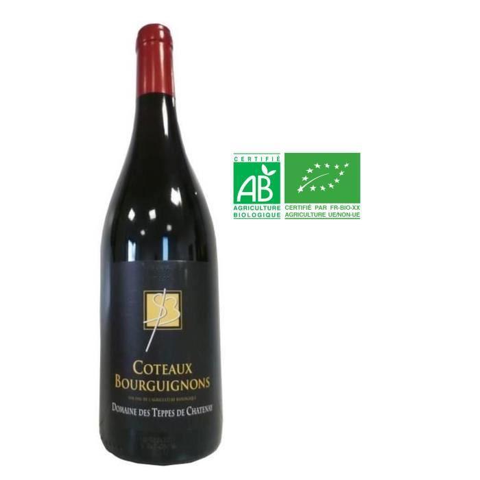 Domaine des Teppes du Chatenay 2016 Côteaux Bourguignons - Vin rouge de Bourgogne BIO