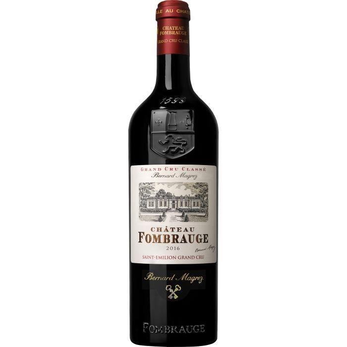Château Fombrauge 2016 Saint-Emilion Grand Cru - Vin rouge de Bordeaux