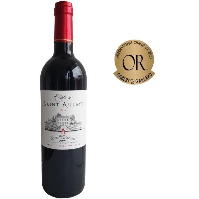 Château Saint Aulaye 2016 Côtes de Bordeaux - Vin rouge de Bordeaux
