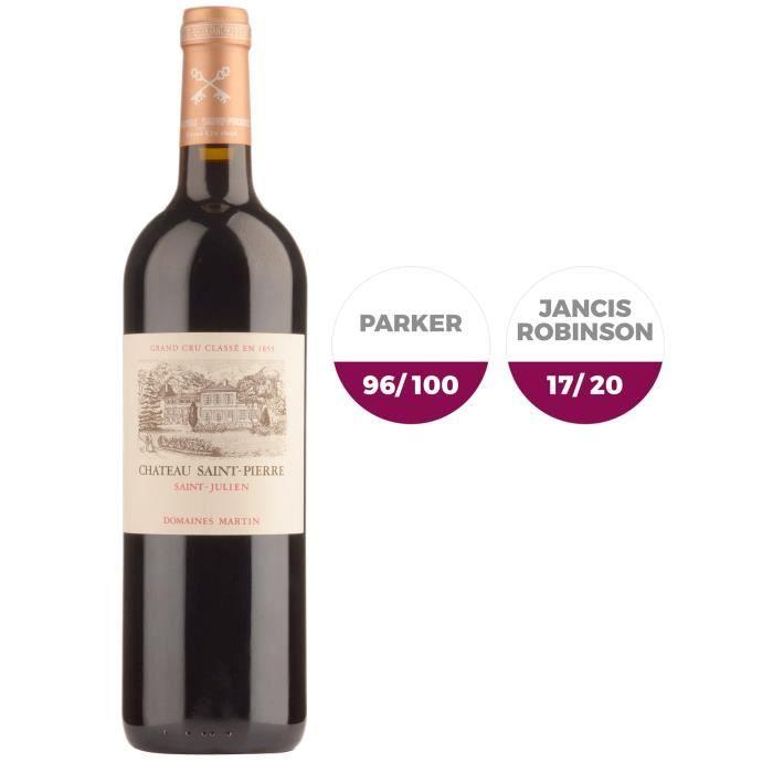 Château Saint-Pierre 2016 Saint-Julien - Vin Rouge de Bordeaux