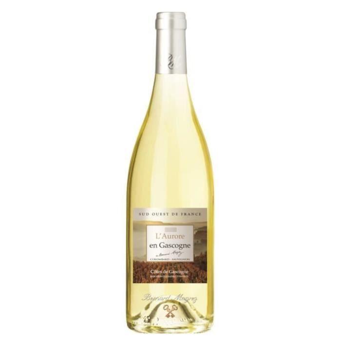BERNARD MAGREZ Aurore en Gascogne 2017 IGP Côtes de Gascogne - Vin blanc du Sud-Ouest
