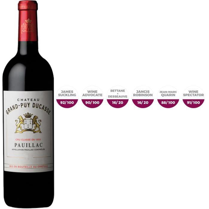 Château Grand-Puy Ducasse 2017 Pauillac - Vin rouge de Bordeaux