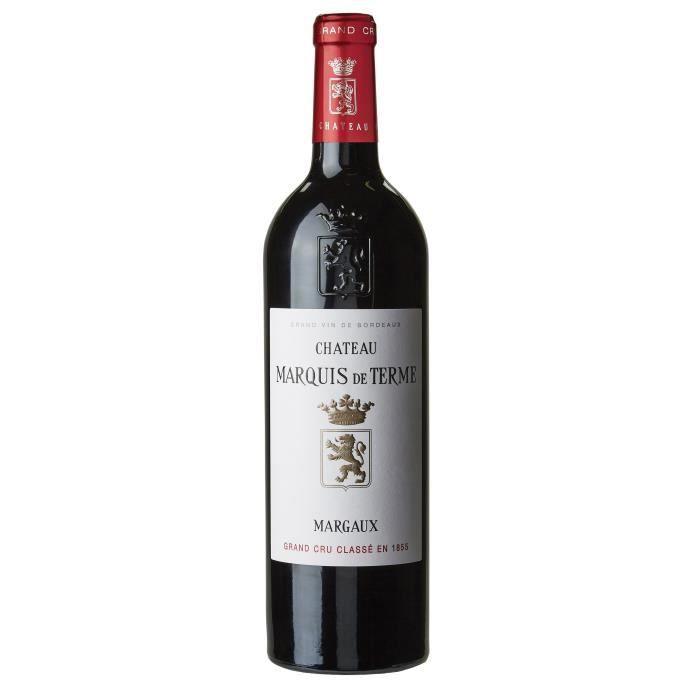 Château Marquis de Terme 2017 Margaux Grand Cru - Vin rouge de Bordeaux