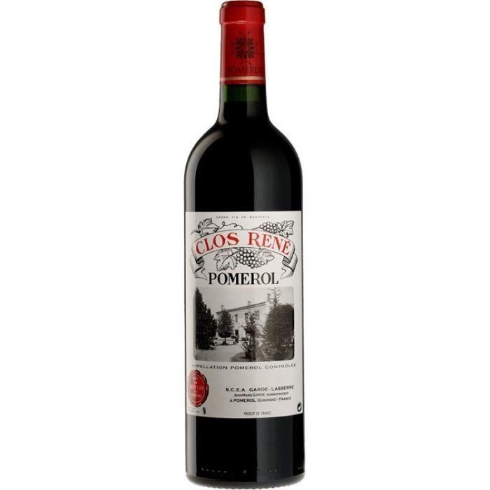CLOS RENÉ 2017 Pomerol - Vin Rouge du Bordelais