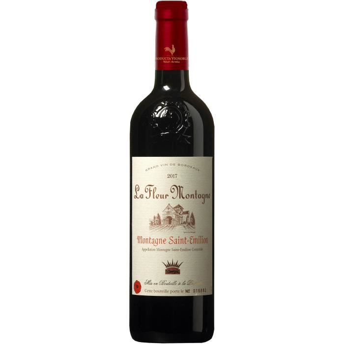 La Fleur Montagne 2017 Montagne Saint-Emilion - Vin rouge de Bordeaux