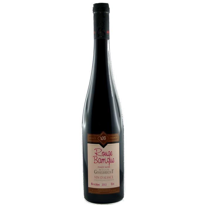 Gisselbrecht Rouge Barrique 2017 Alsace Pinot Noir - Vin rouge d'Alsace