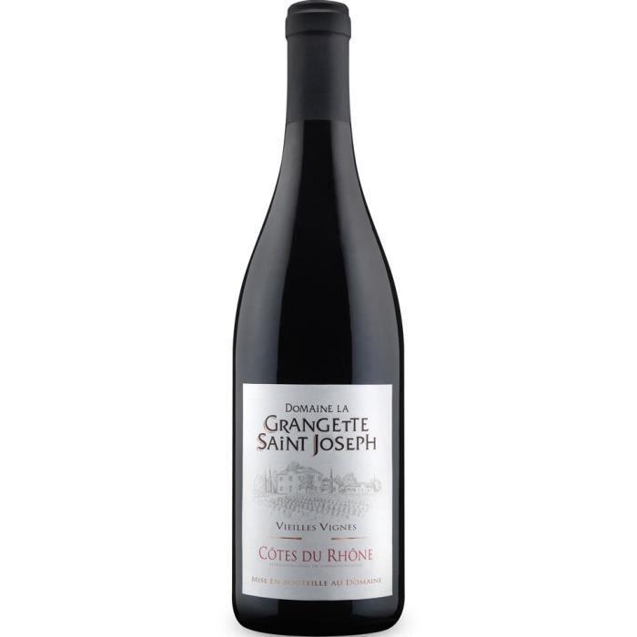 Domaine la Grangette Saint-Joseph 2017 Côtes du Rhône - Vin rouge du Rhône
