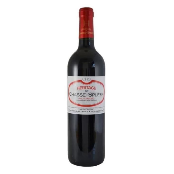 Héritage de Chasse-Spleen 2017 Haut-Médoc - Vin rouge de Bordeaux