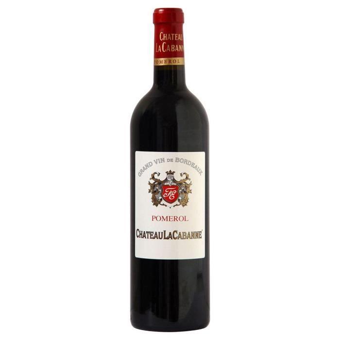 Château La Cabanne 2017 Pomerol Grand Cru - Vin rouge de Bordeaux