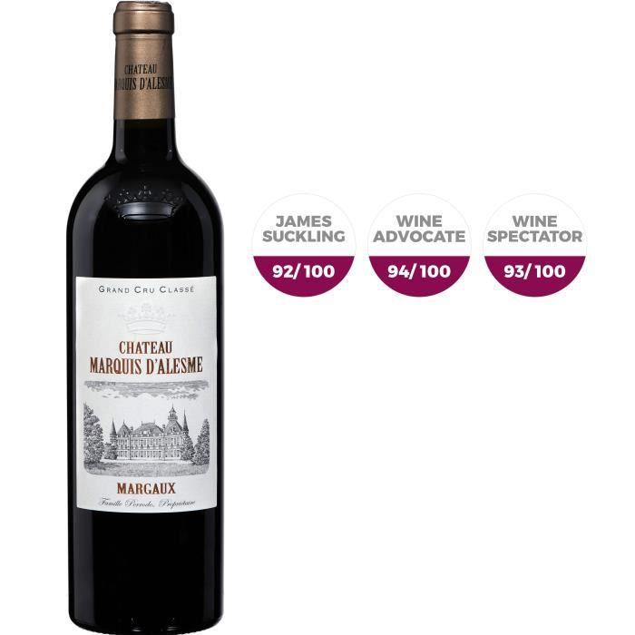 Château Marquis D'alesme Becker 2017 Margaux Grand Cru - Vin rouge de Bordeaux
