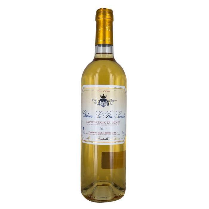 Château Le Pin Sacriste 2017 Sainte Croix du Mont - Vin blanc de Bordeaux