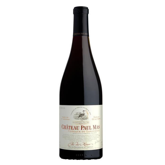 Château Paul Mas -Clos des Mures- 2017 Côteaux du Languedoc - Vin rouge du Languedoc Roussillon