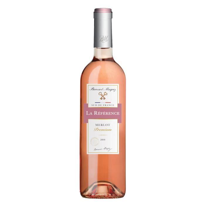 Reference Merlot Rose 2018 Vin De Pays D'oc - Vin Rosé de Languedoc-Roussillon