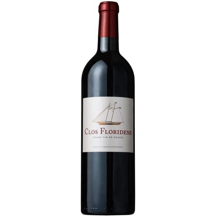 Clos Floridène 2018 Graves - Vin rouge de Bordeaux