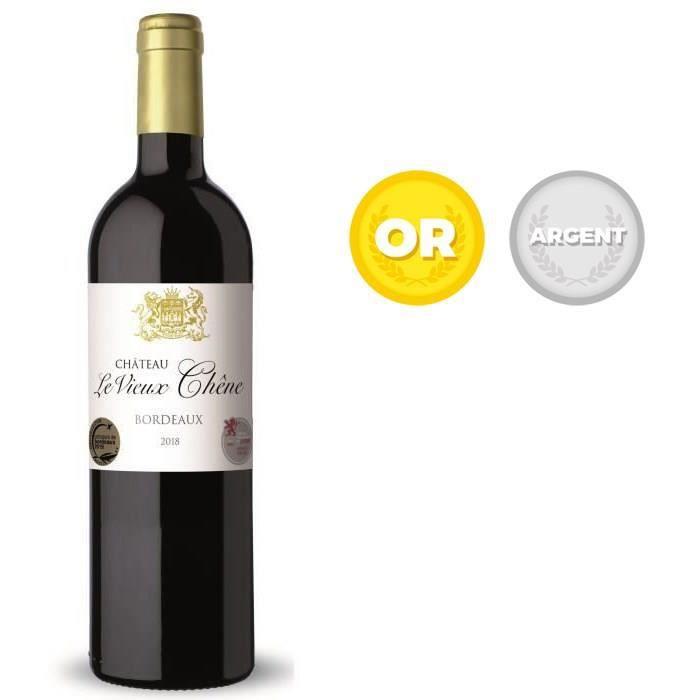 Château Le Vieux Chêne 2018 Bordeaux HVE3 - Vin rouge de Bordeaux