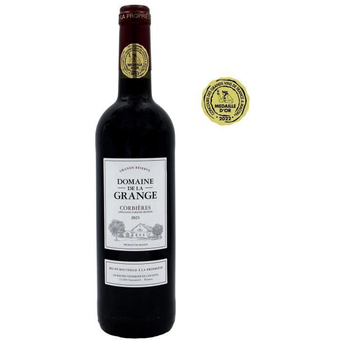 Domaine de la Grange 2018 Corbières - Vin rouge du Languedoc Roussillon