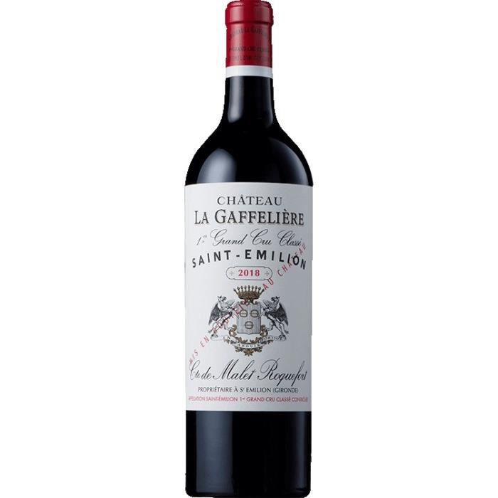 Château La Gaffelière 2018 Saint-Emilion Grand Cru - Vin rouge de Bordeaux