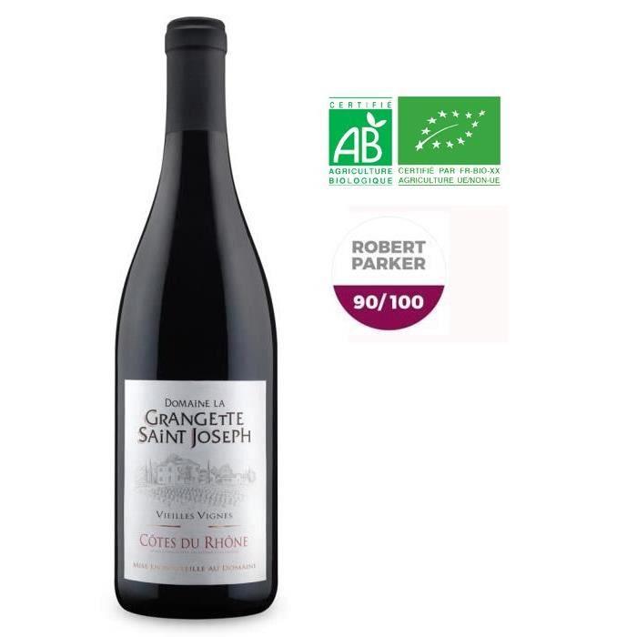 Domaine la Grangette Saint-Joseph 2018 Côtes du Rhône - Vin rouge du Rhône - Bbio