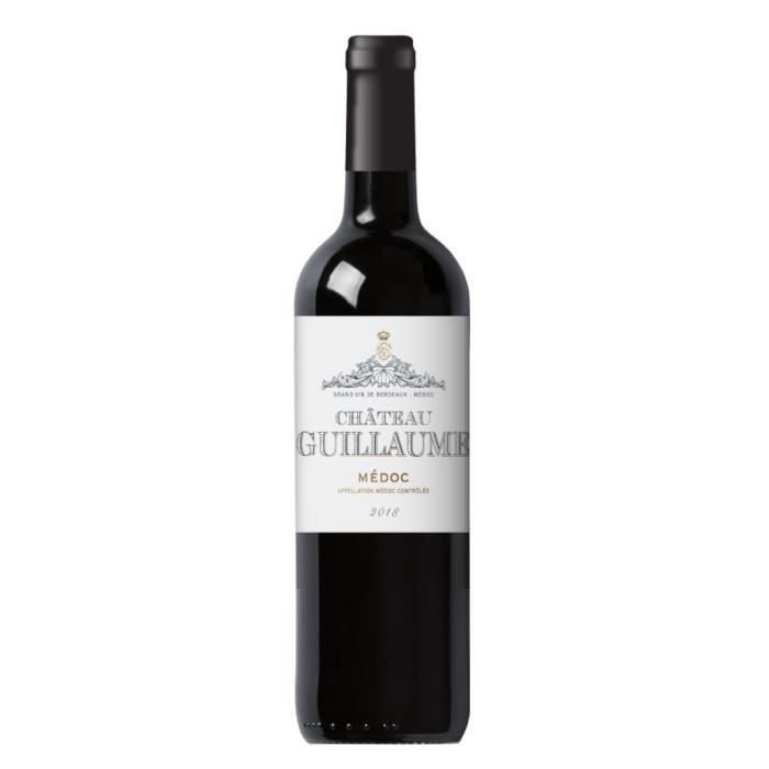Château Guillaume 2018 Médoc - Vin rouge de Bordeaux