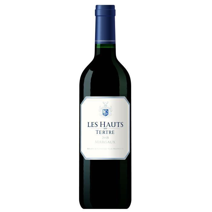 Les Hauts du Tertre 2018 Margaux - Vin rouge de Bordeaux