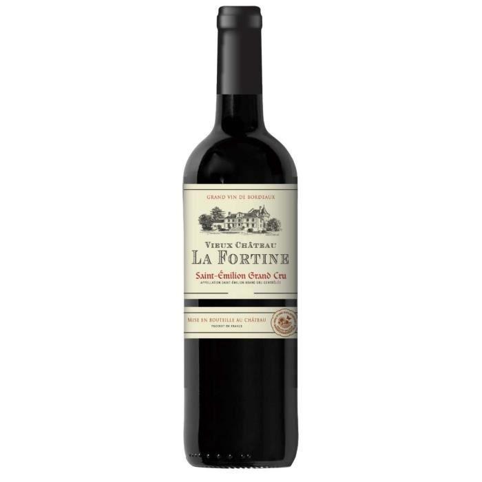 Vieux Château La Fortine 2017 Saint-Emilion Grand Cru - Vin rouge de Bordeaux