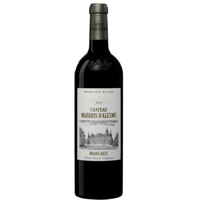 Château Marquis D'Alesme Becker 2018 Margaux - Vin rouge de Bordeaux