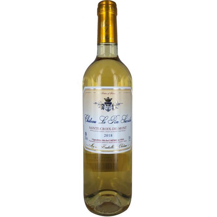 Château Le Pin Sacriste 2018 Sainte Croix du Mont - Vin blanc de Bordeaux