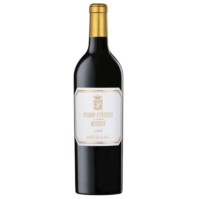 Pichon Comtesse Réserve 2018 Pauillac - Vin rouge de Bordeaux