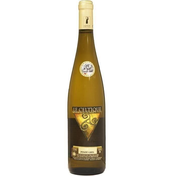 Le Celtique IGP Pinot Gris - Vin blanc du Val de Loire