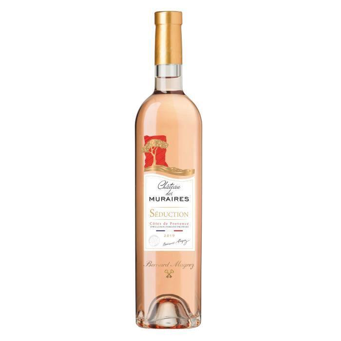 Château des Muraires Séduction 2019 Côtes de Provence - Vin rosé de Provence