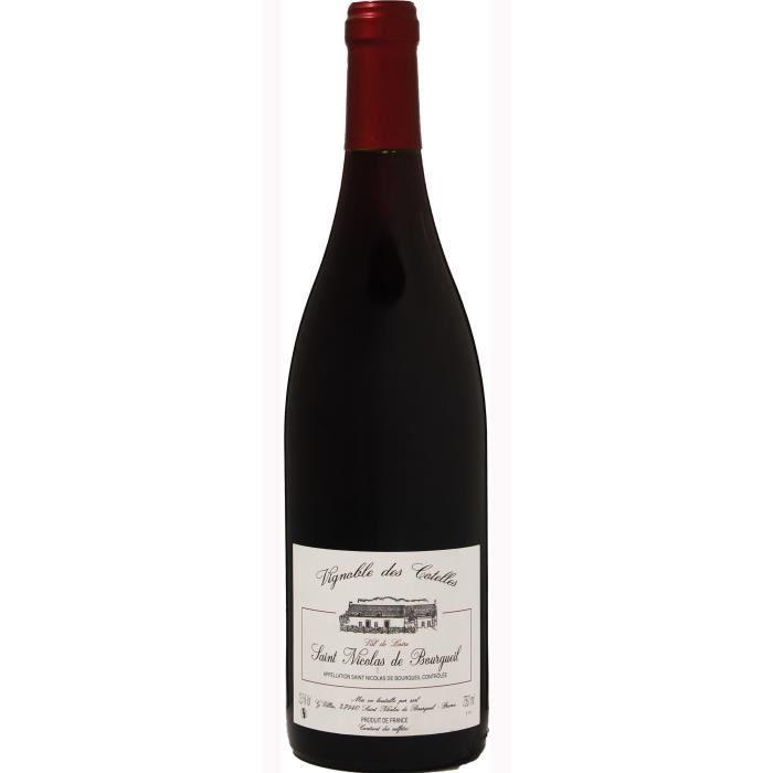 Vignobles des Cotelles 2019 Saint Nicolas de Bourgueil - Vin rouge du Val de Loire