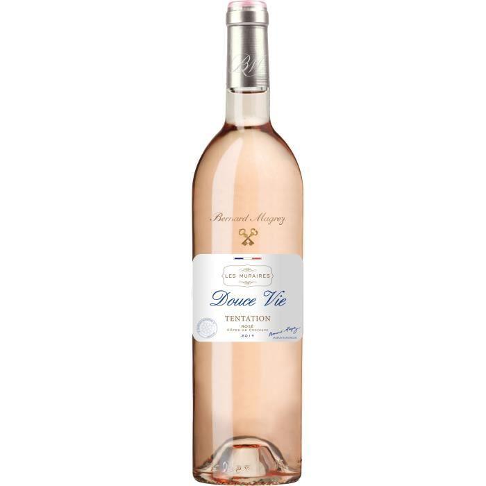 Bernard Magrez Douce Vie Tentation 2019 Côtes de Provence - Vin rosé de Provence