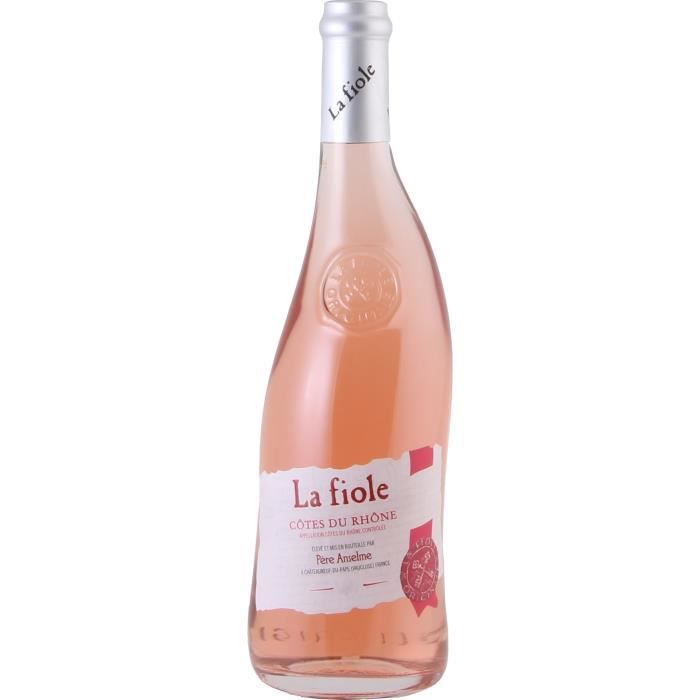 Maison Brotte La Fiole 2020 Côtes du Rhône - Vin rosé des Côtes du Rhône