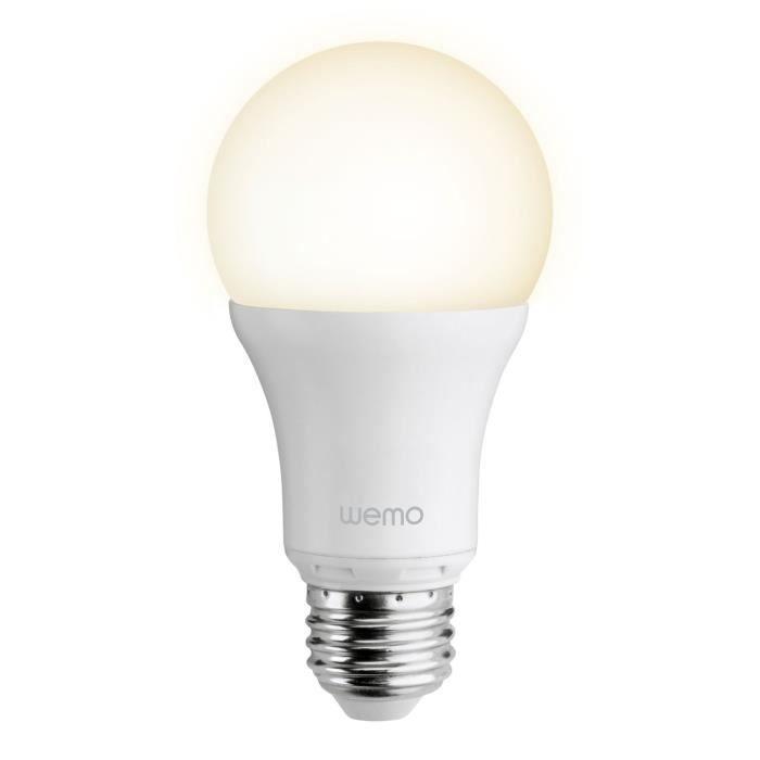 BELKIN Ampoule LED intelligente WeMo F7C033vfE27 - Connecté