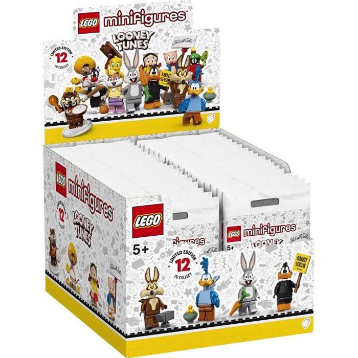 LEGO® Minifigures 71030 Looney Tunes™ - Boîte complèrte de 36 minifigurines