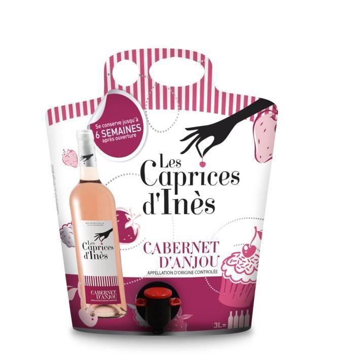 Les Caprices d'Inès Rosé d'Anjou