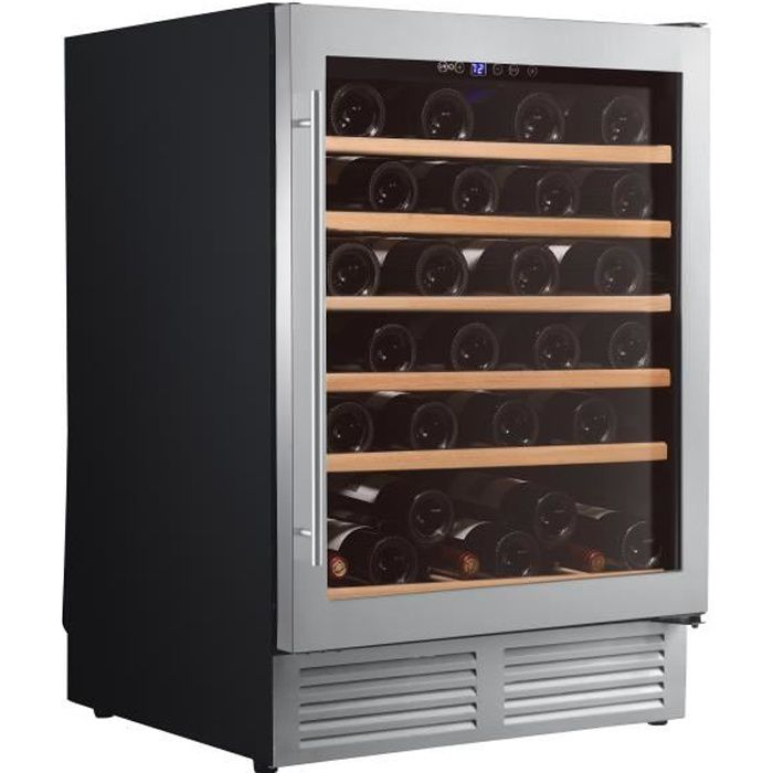 CLIMADIFF CLE51 - Cave à vin de service - 51 bouteilles - Encastrable - Classe B - L 59,5 x H 82 cm