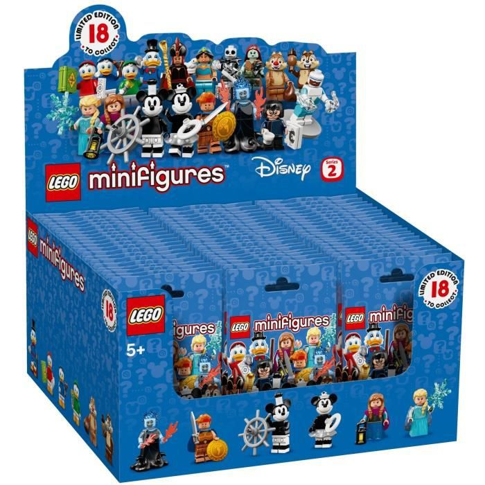 LEGO® Minifigurines™ 71024 Disney Série 2 - Boite complète 60 minifigurines incluses