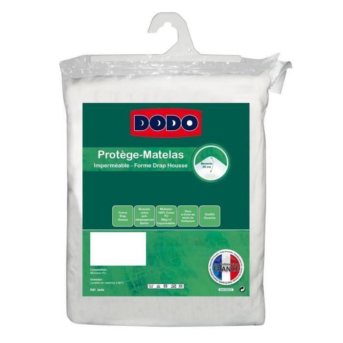 DODO Protège-matelas Alèse imperméable Jade 90x190 cm