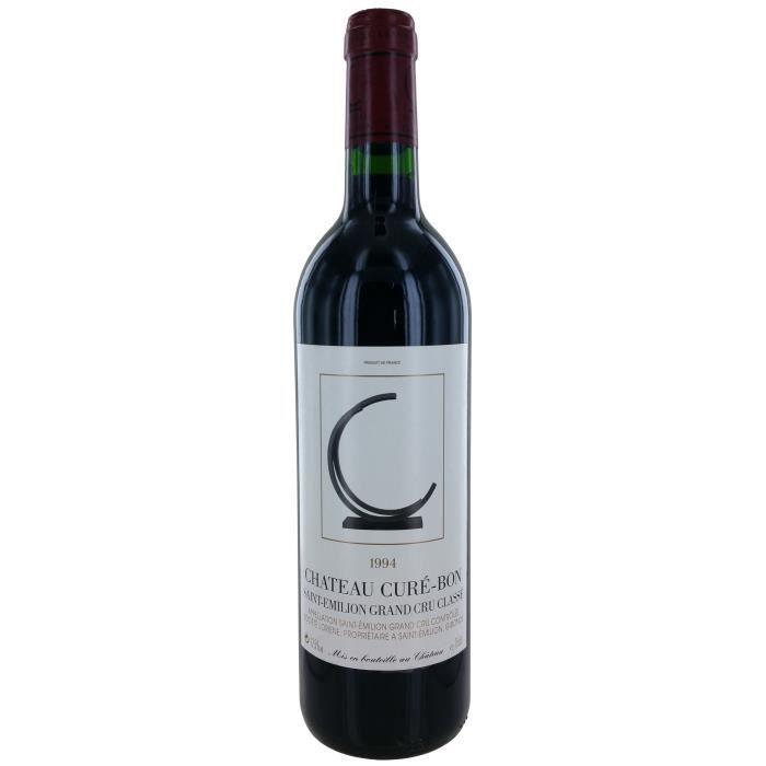 Château Curé-Bon 1994 Saint-Emilion Grand Cru - Vin rouge de Bordeaux