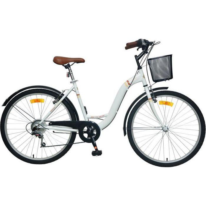 MERCIER Vélo 26 - Rétro - Femme - Blanc