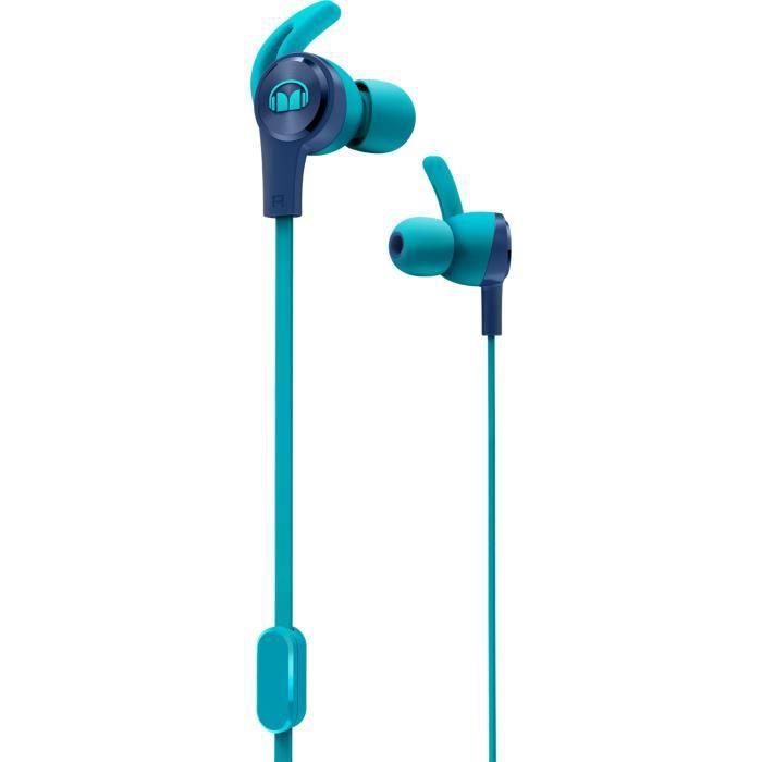 MONSTER ISPORT ACHIEVE Ecouteurs Sport intra-auriculaires Bleus