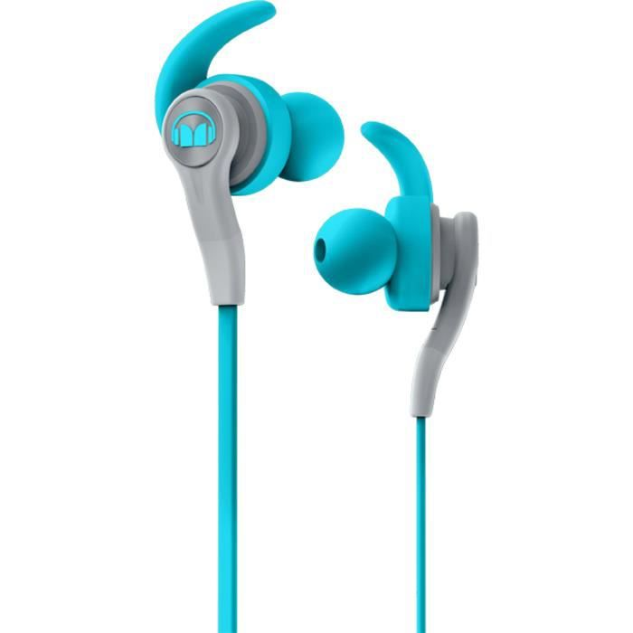 MONSTER ISPORT COMPETE Ecouteurs Sport intra-auriculaires Bleus