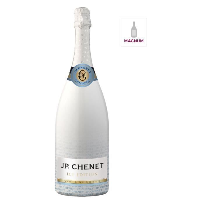 JP Chenet Ice Edition - Vin effervescent Blanc - Magnum 1,5 L