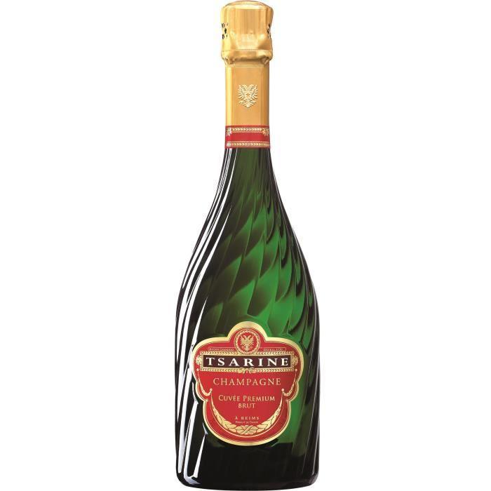 Champagne Tsarine Cuvée Premium Brut - 75 cl