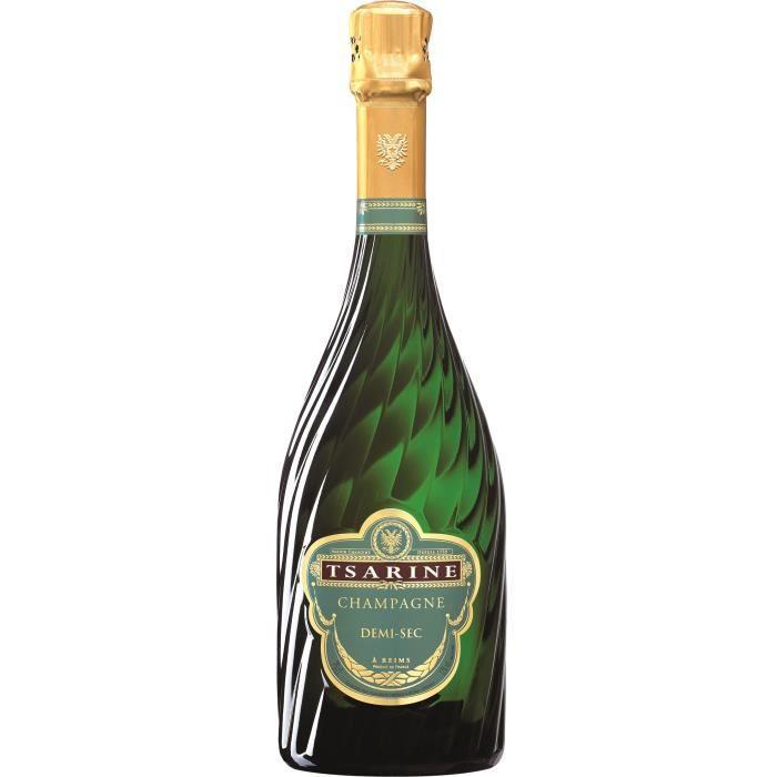 Champagne Tsarine Demi-sec - 75 cl