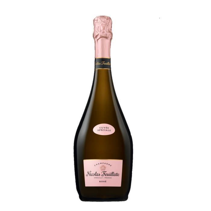 Champagne Nicolas Feuillatte Cuvée Spéciale Rosé 75cl