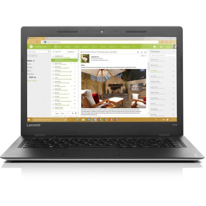 LENOVO PC Portable Ideapad 100S-14IBR 14\