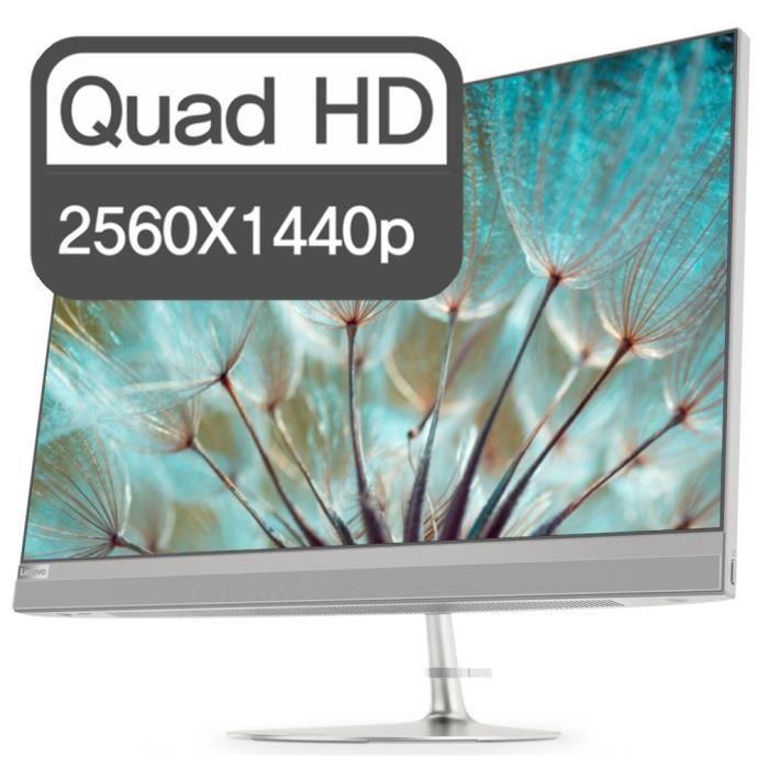 Ordinateur Tout-en-un - LENOVO Ideacentre 520-27ICB - 27'' - i5-8400T - RAM 8Go - Stockage 256Go SSD - Windows 10